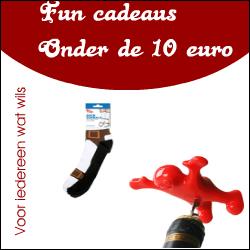 leuke cadeaus onder 10 euro